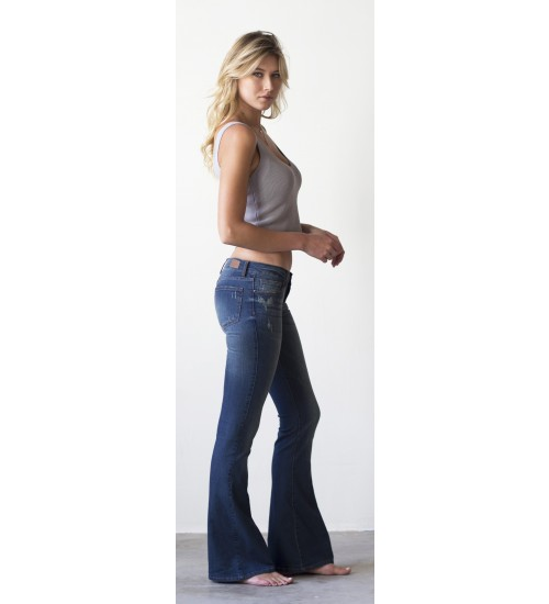 Holly Fit & Flare : Distressed Vintage