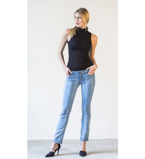 Sloane Slim Straight : Light Blue