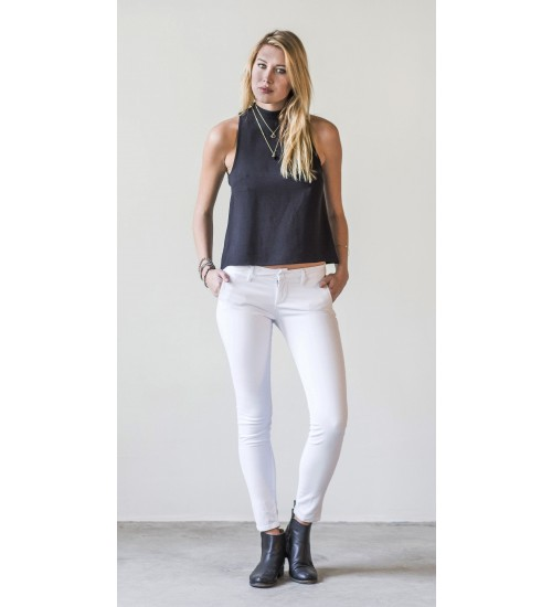 Pickford Skinny Trouser : White