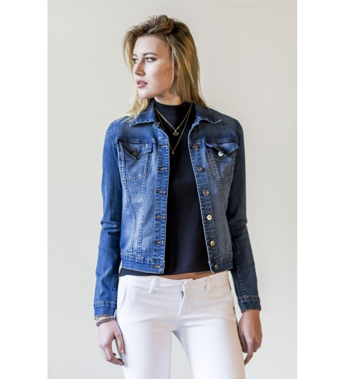 Bobbie Denim Jacket : Medium Blue